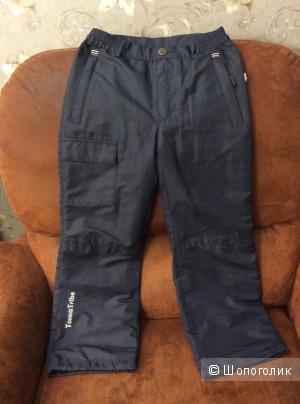 Детские утеплённые непромокаемые брюки Tokka Tribe р.128
