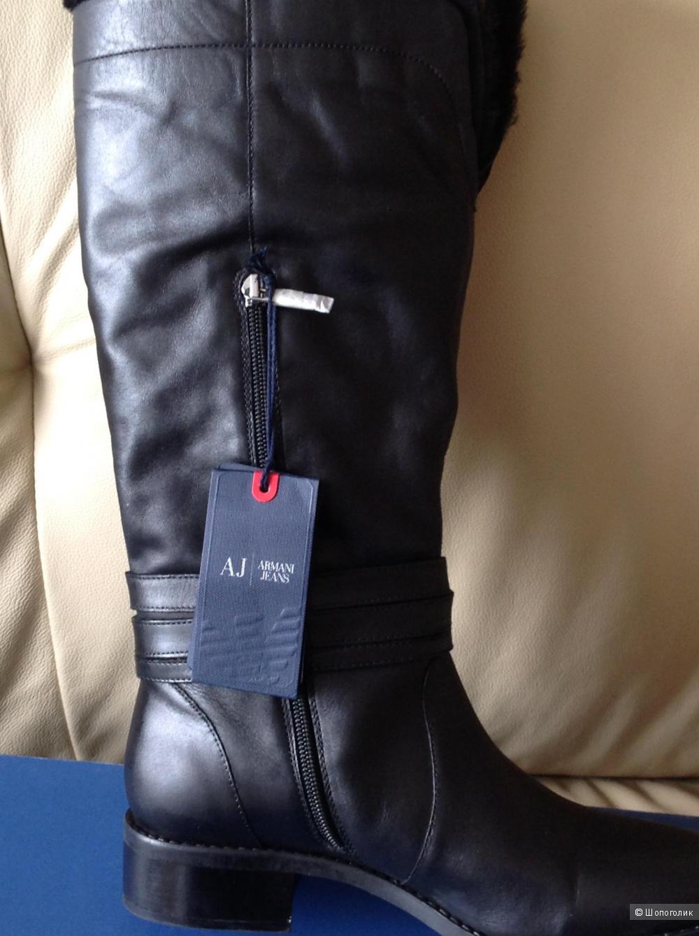 Зимние сапоги Armani jeans, размер 39-40
