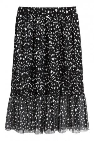 Плиссированная юбка HM евро36