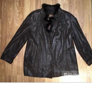 Куртка кожаная Hacci fashion. Размер 2xl