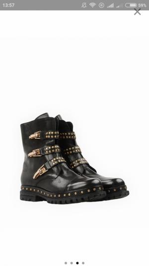 Ботинки Fabrizio Chini 39 размер