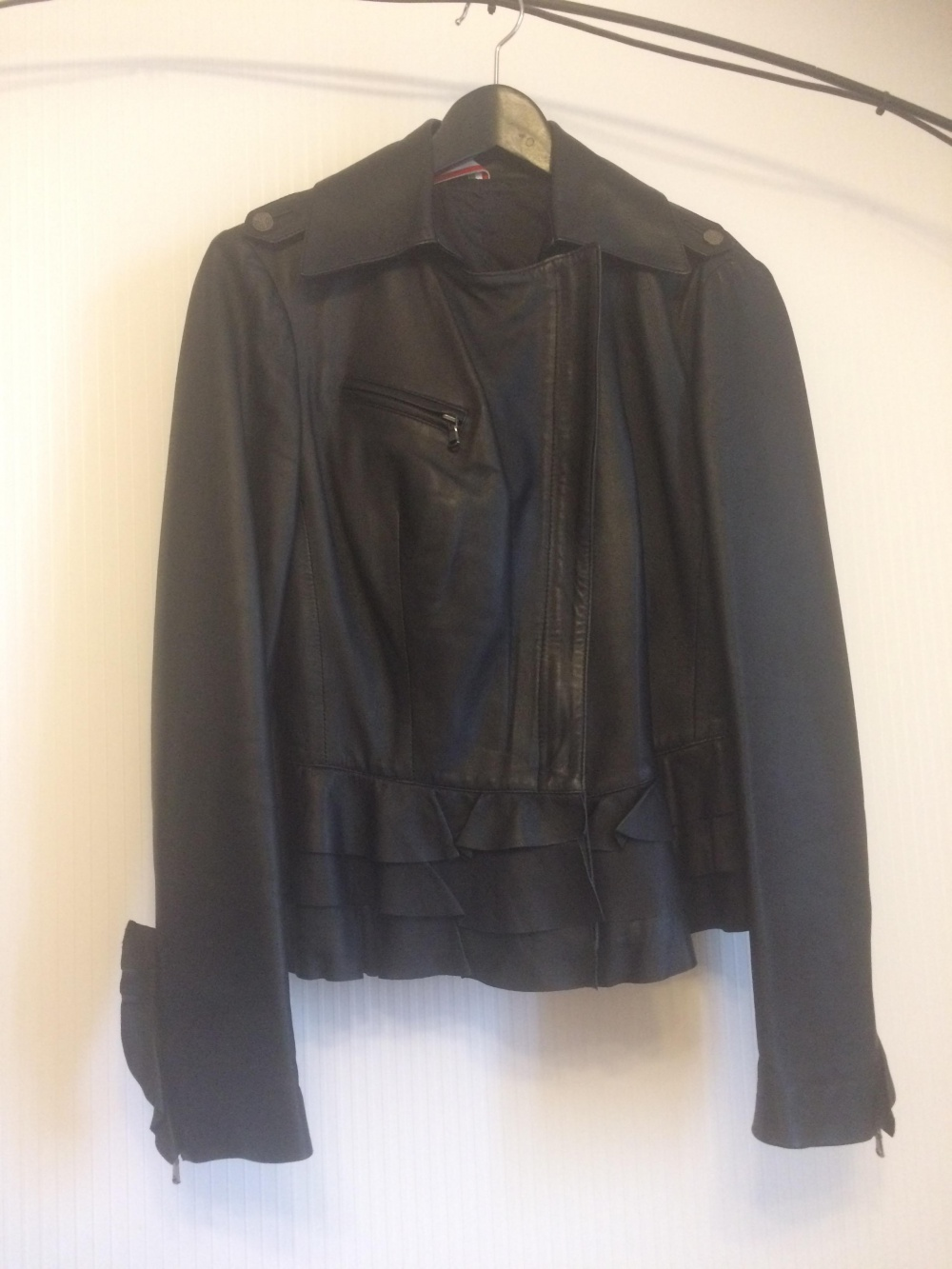 Кожаная куртка косуха Sicas  46