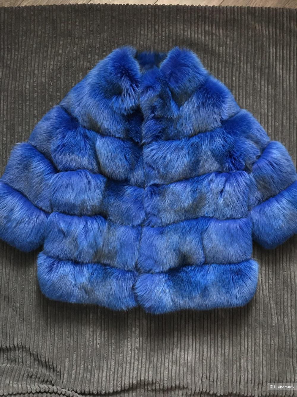Шубка из песца Elsa Fur размер 42-44