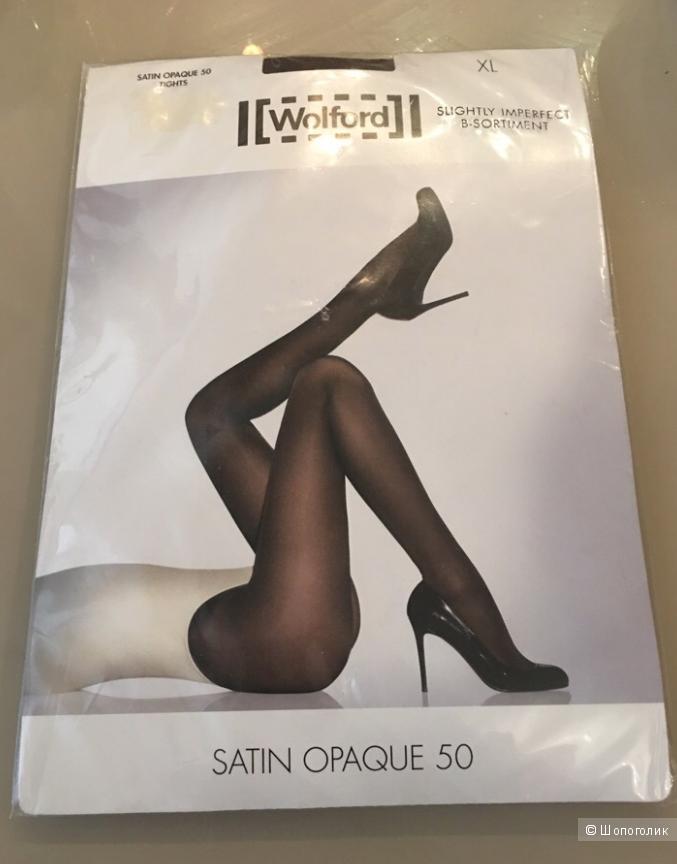 Колготки Wolford Satin Opaque,p.XL 50 ден