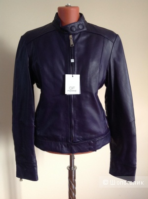 Кожаная куртка GF Ferre, размер 48-50-52