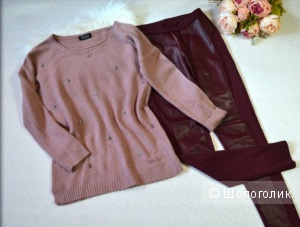 Сет: свитер Gina и леггинсы ESMARA, размер S,M.