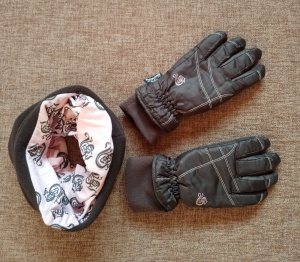 Комплект Alive: снуд и перчатки, 8