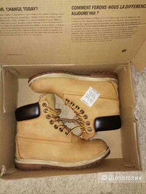 Ботинки зимние Timberland 36/37 размер