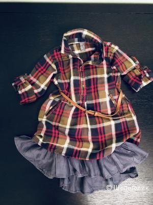 Платье Zara 2-3 года
