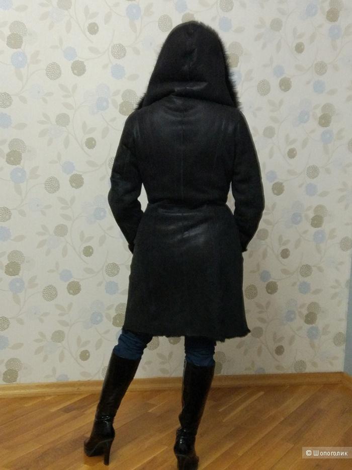 Дубленка женская, пр-во Турция, размер L