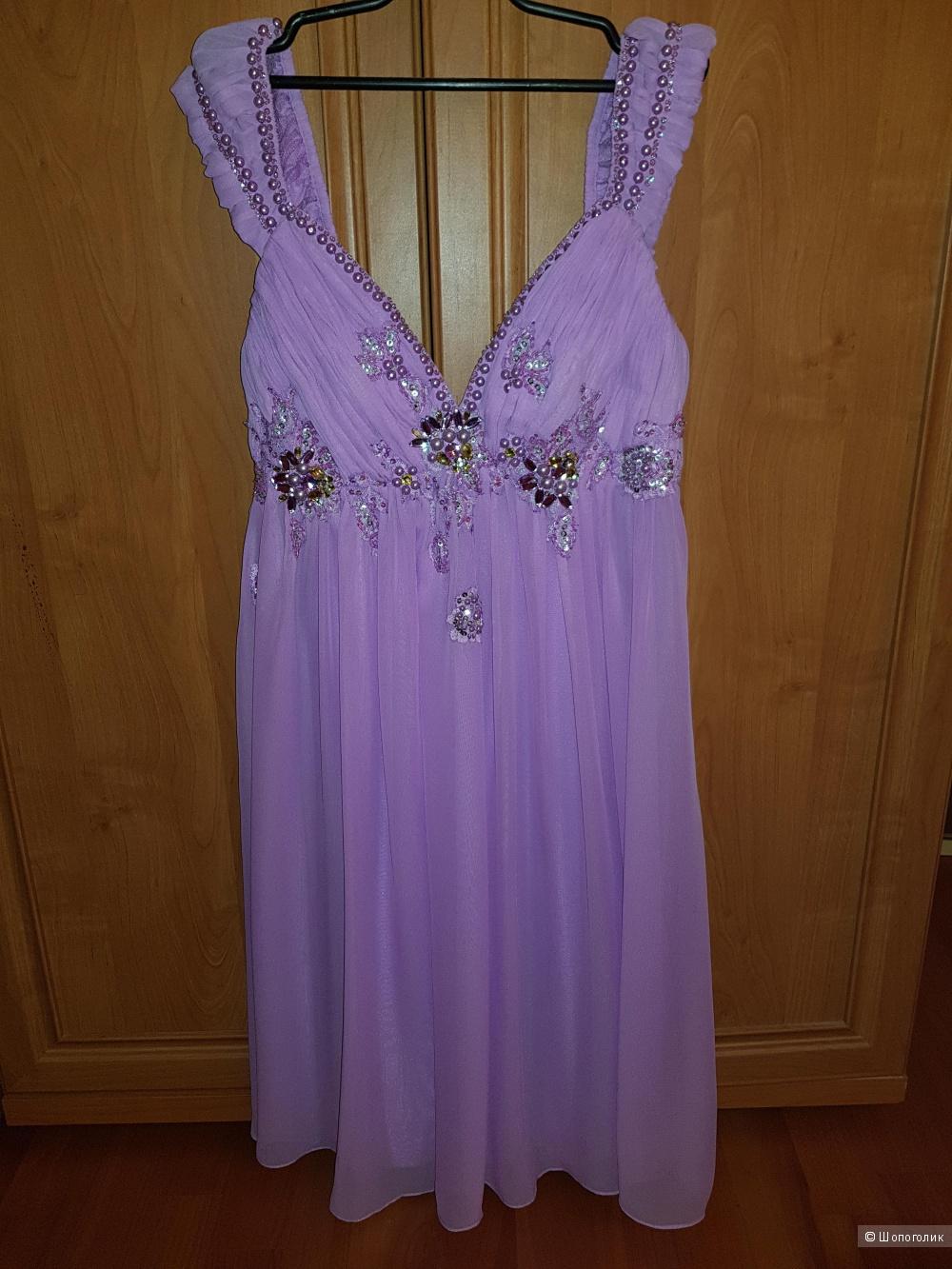 Платье X'Zotic сиреневое размер 42