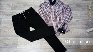 Сет джинсы Toxik3 и рубашка Jack&Jones ,размер XL.