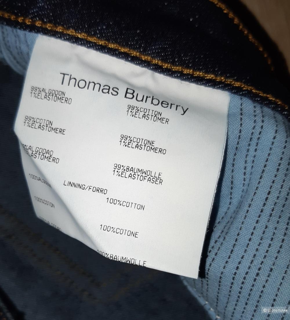 Джинсы thomas burberry, размер 26