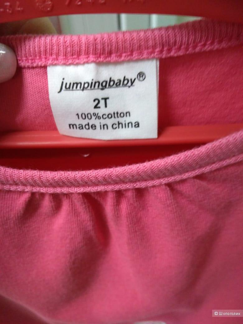 Детская футболка на девочку . Размеры 85 см  90 см  95 см  100 см  110 см  120 см