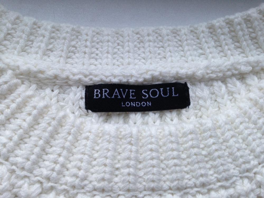 """Джемпер """" Brave Soul """", размер L"""