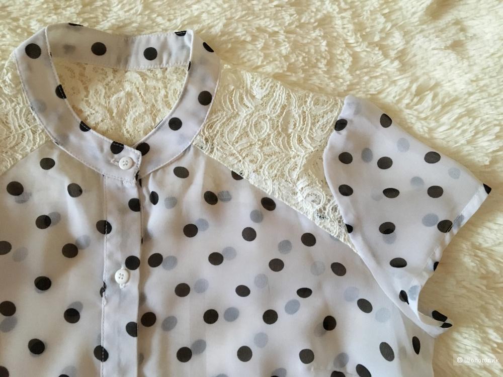 Шифоновая блузка Gloria Jeans, размер 42/44
