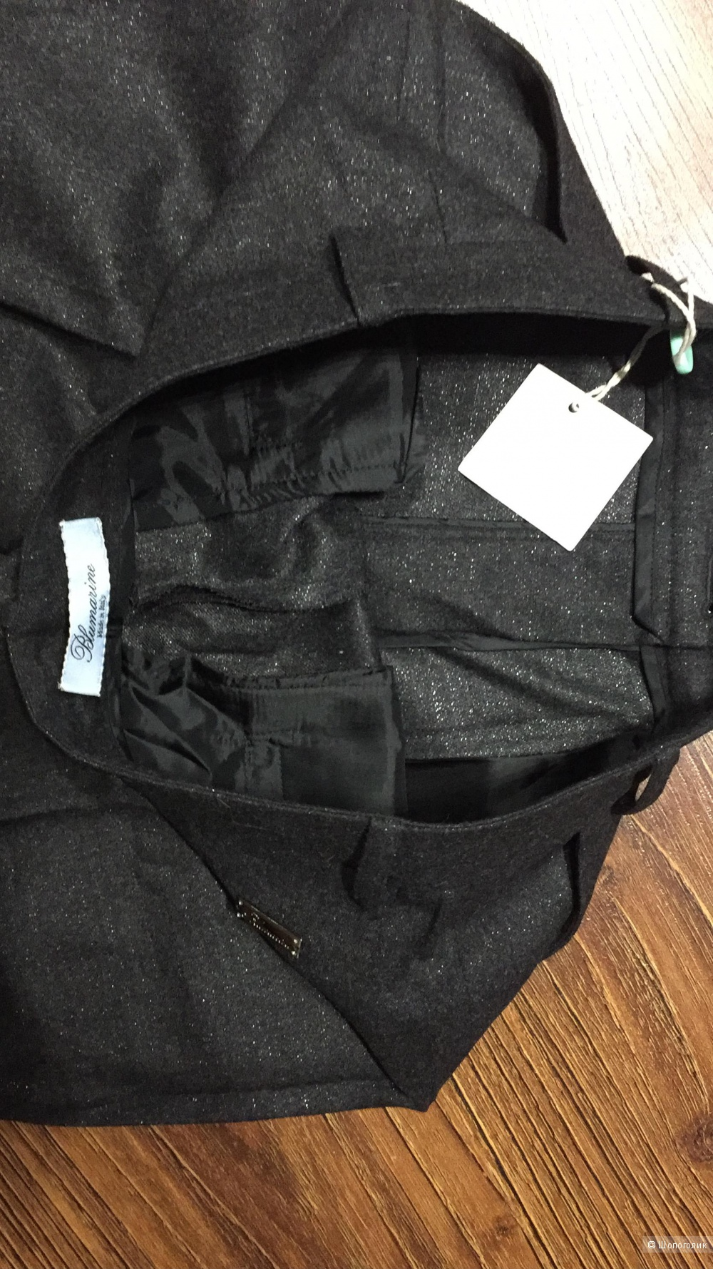 Шерстяные женские брюки BLUMARINE . р.44