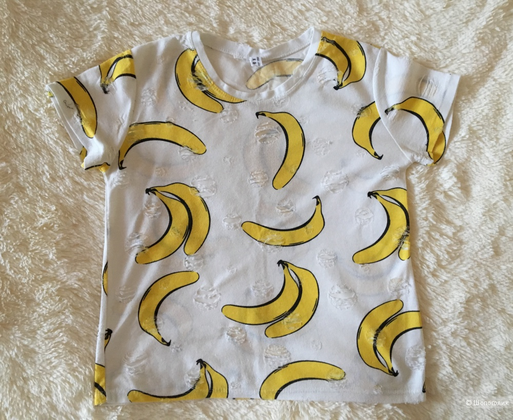 Женская футболка, no name, размер 42/44