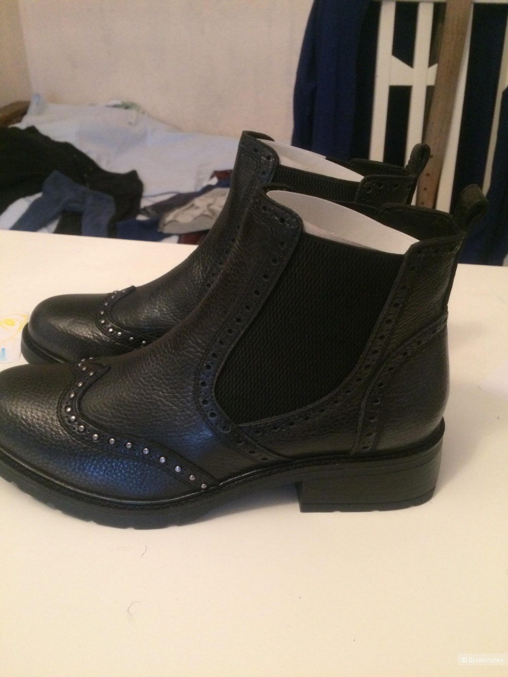 Ботинки женские, размер 39