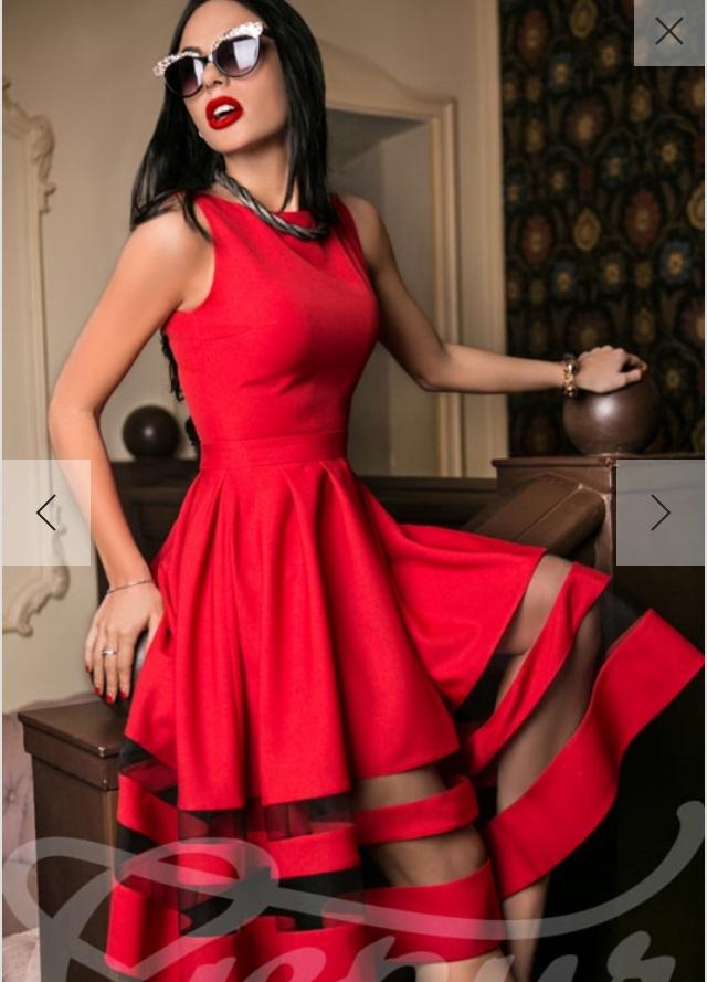 Эффектное платье от Gepur, XS-S