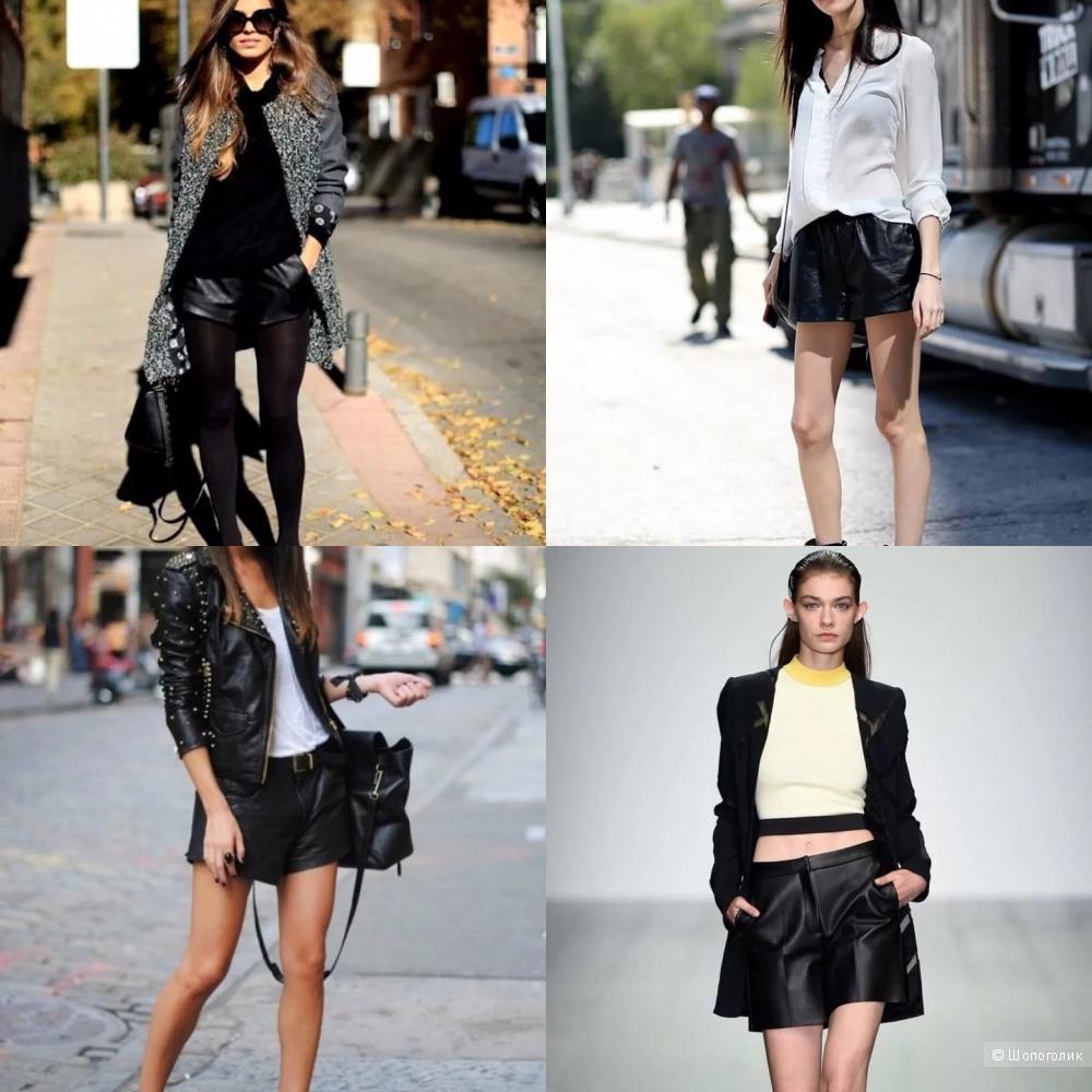 Кожаные шорты Twin-set Simona Barbieri L