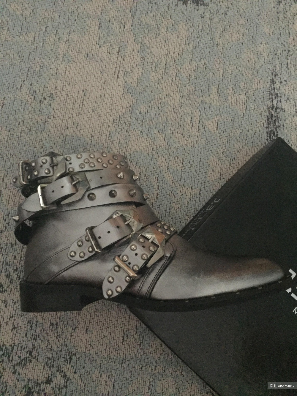 Ботинки высокие J .born р.38