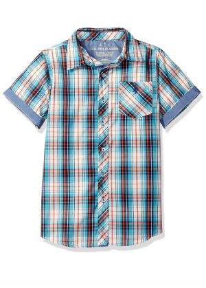 Рубашка u s polo 10-12лет