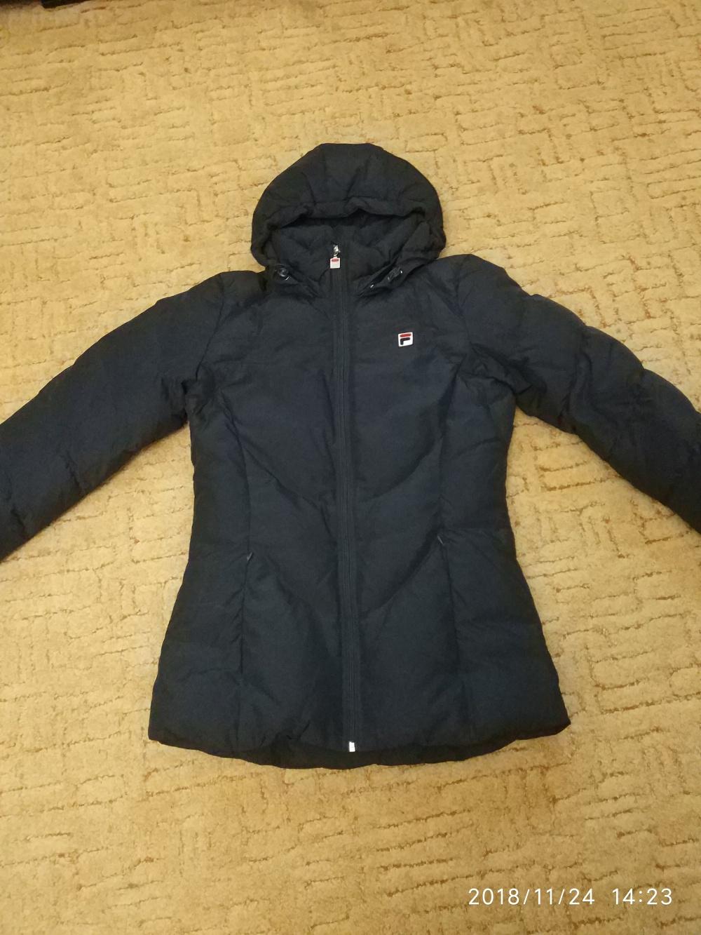 Куртка зимняя FILA,размер 46(L)