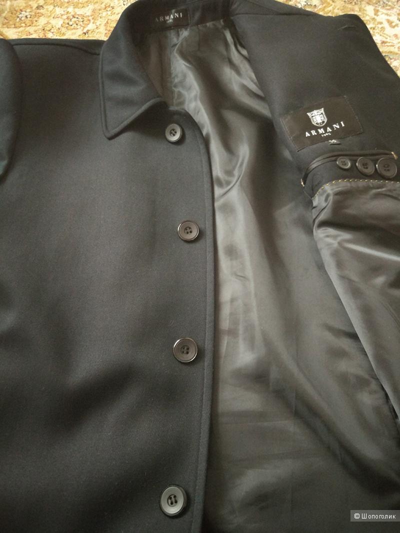 Пальто мужское, ARMANI 1985, размер 50