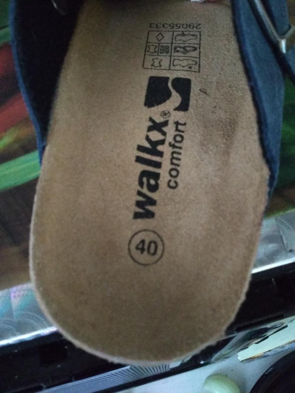 Тапки walkx 40