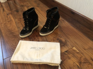 Кеды на платформе Jimmy Choo, 36.5