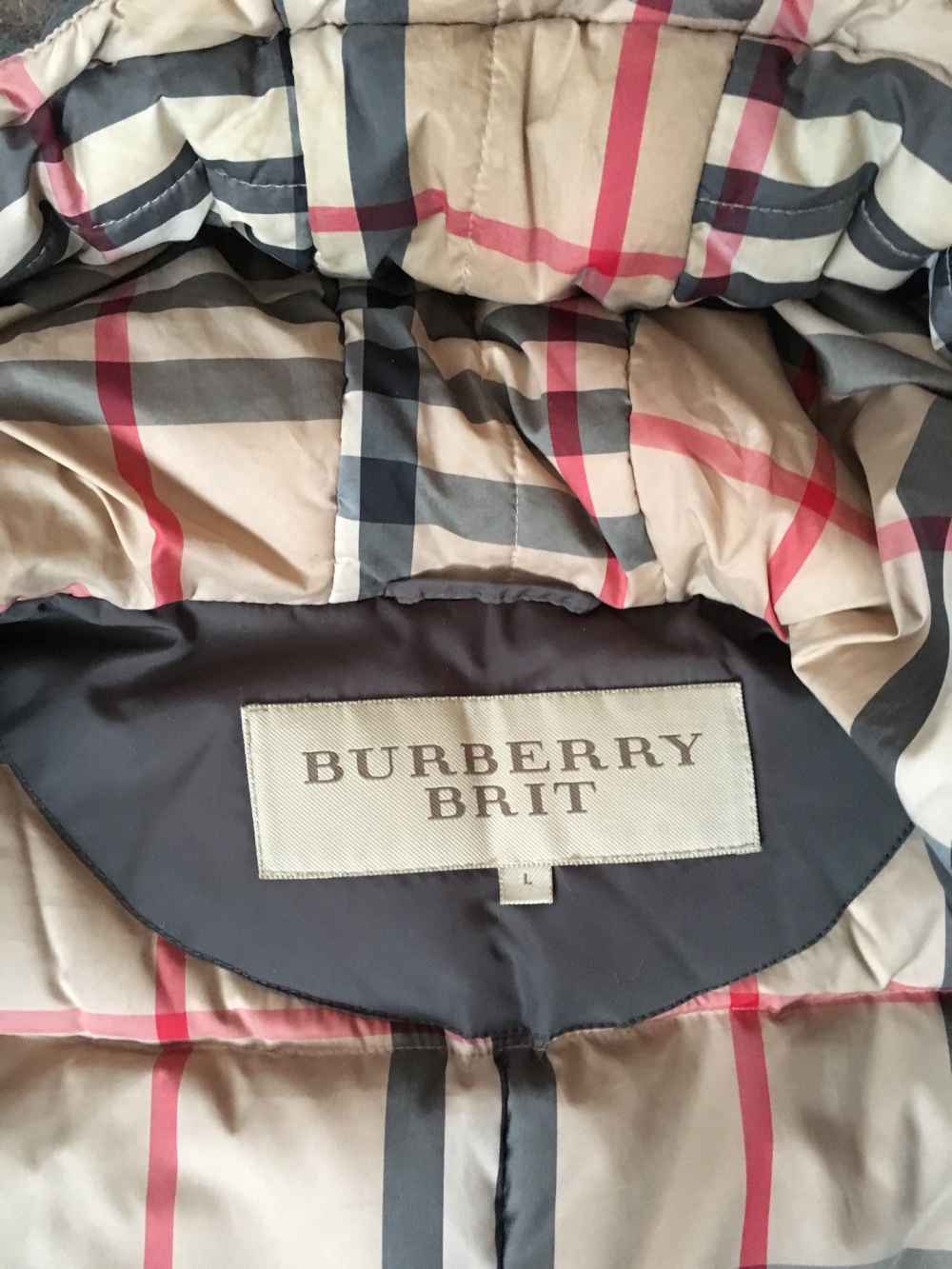 Парка Burberry Brit, 44-46 размер