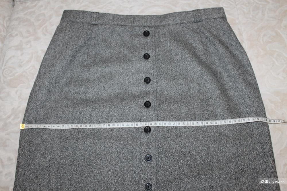 Шерстяная юбка-макси Steilmann, размер нем. 44