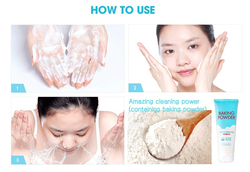 Усиленная Пенка для умывания Etude House Baking Powder B.B Deep Cleansing Foam 150 ml
