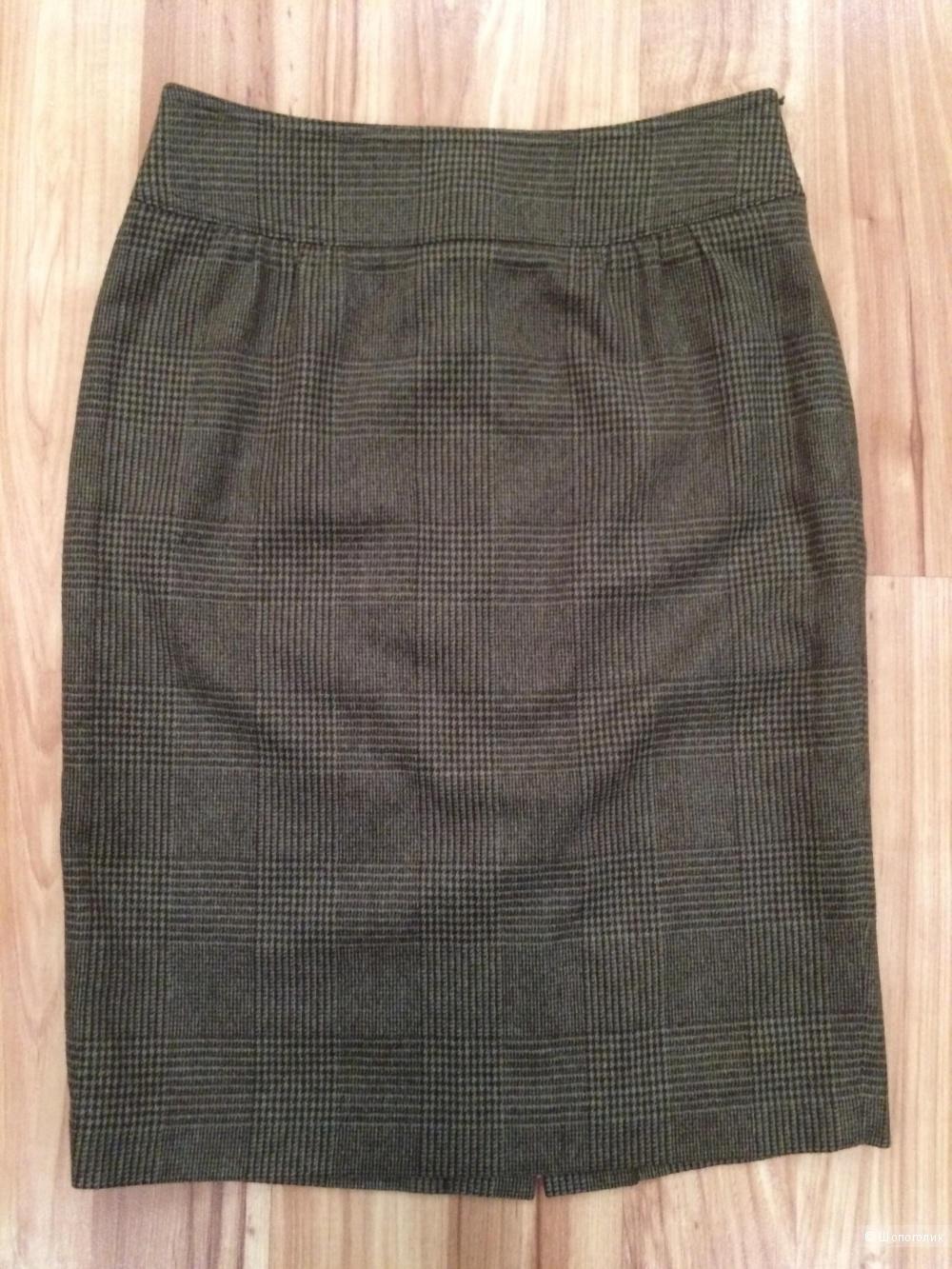 Шерстяная юбка MaxMara размер 42-44