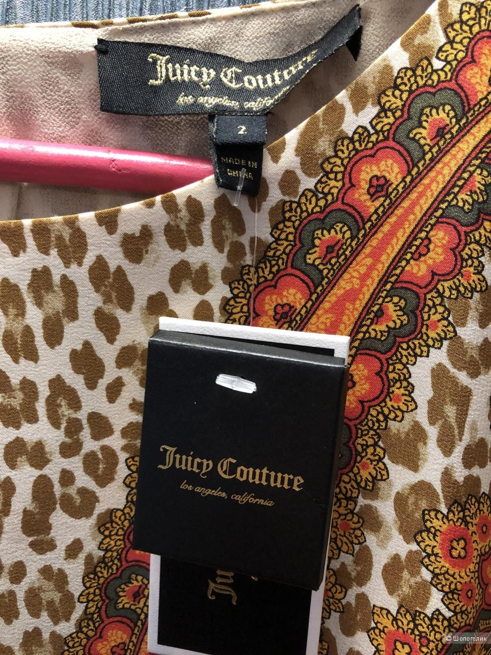 Шёлковое платье Juicy Couture, S