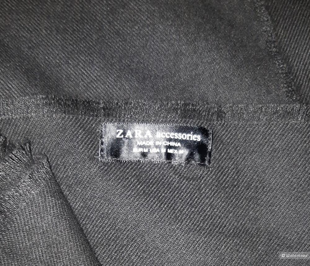 Палантин zara, размер 127*220