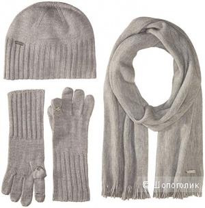Набор Calvin Klein шапка, перчатки, шарф