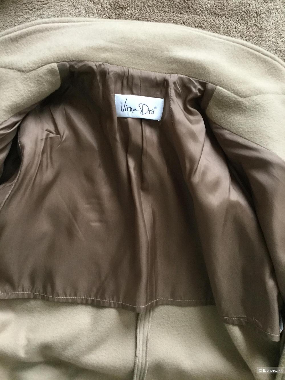 Пальто VIRNA DRÒ®,размер 48 ( 46 it)