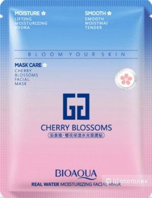 BioAqua Mask Care Cherry Blossoms Facial Maskа тканевая маска с экстрактом Вишни