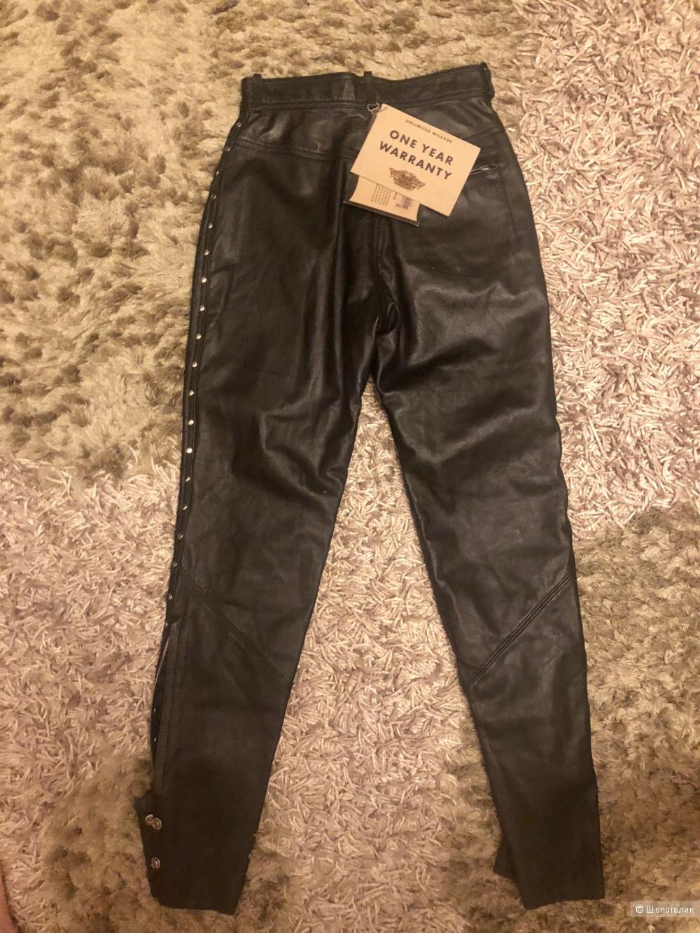 Кожаные брюки Harley Devidson. Размер M.