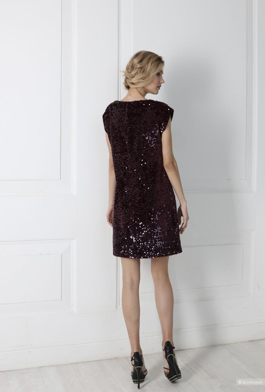 Платье с паетками KRIST, S/M/L