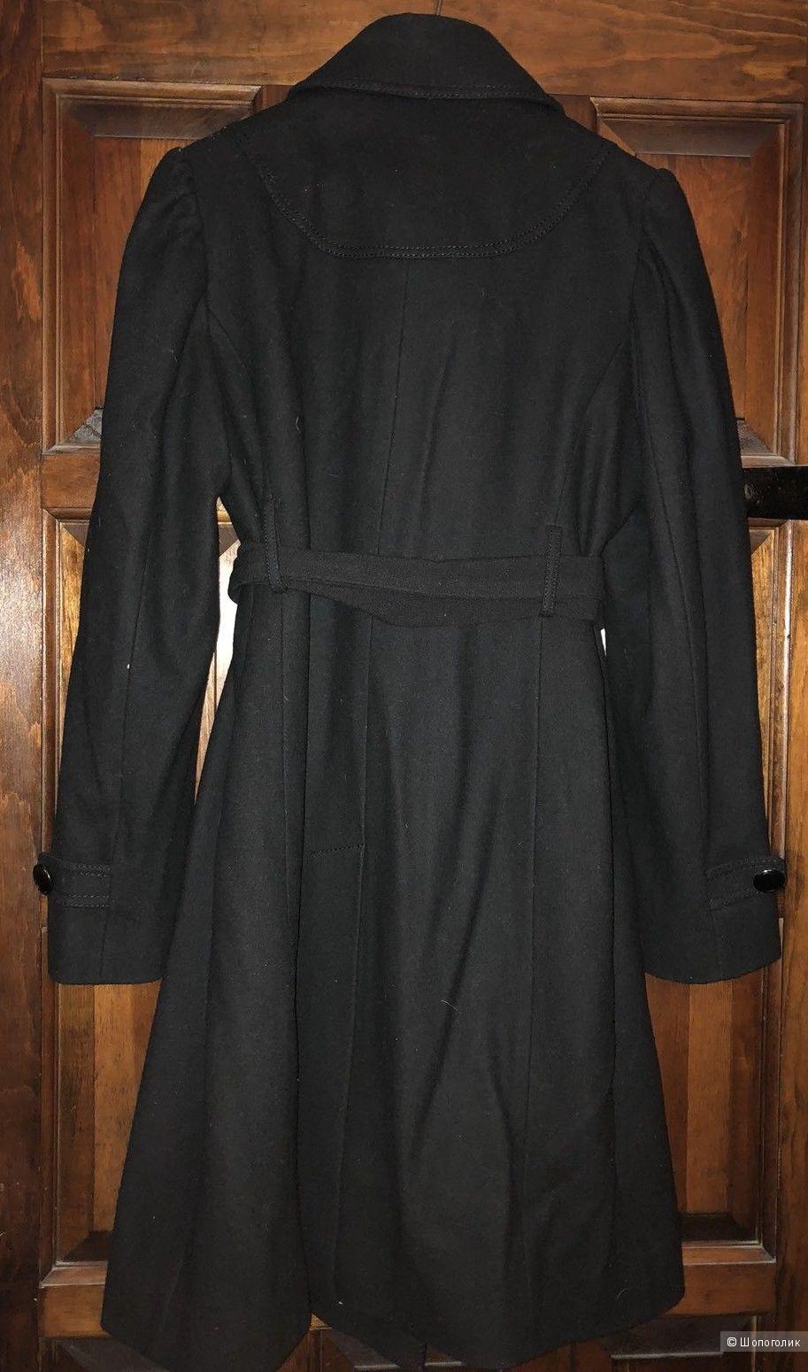 Шерстяное пальто Kenneth Cole 48 размер L