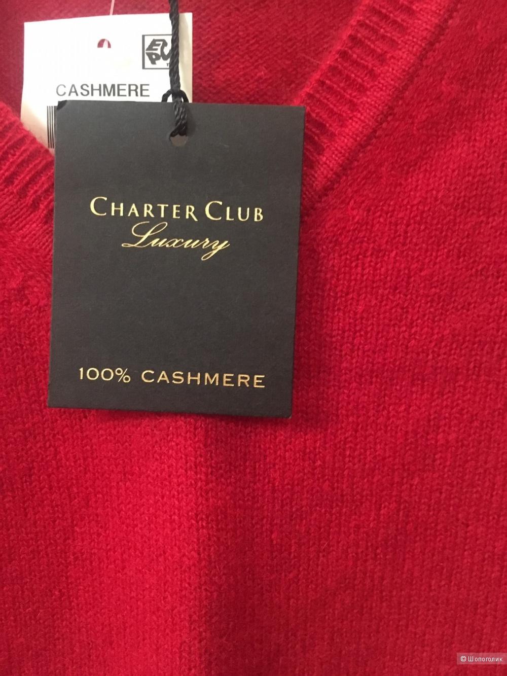 Кашемировый свитер Charter Club размер XS