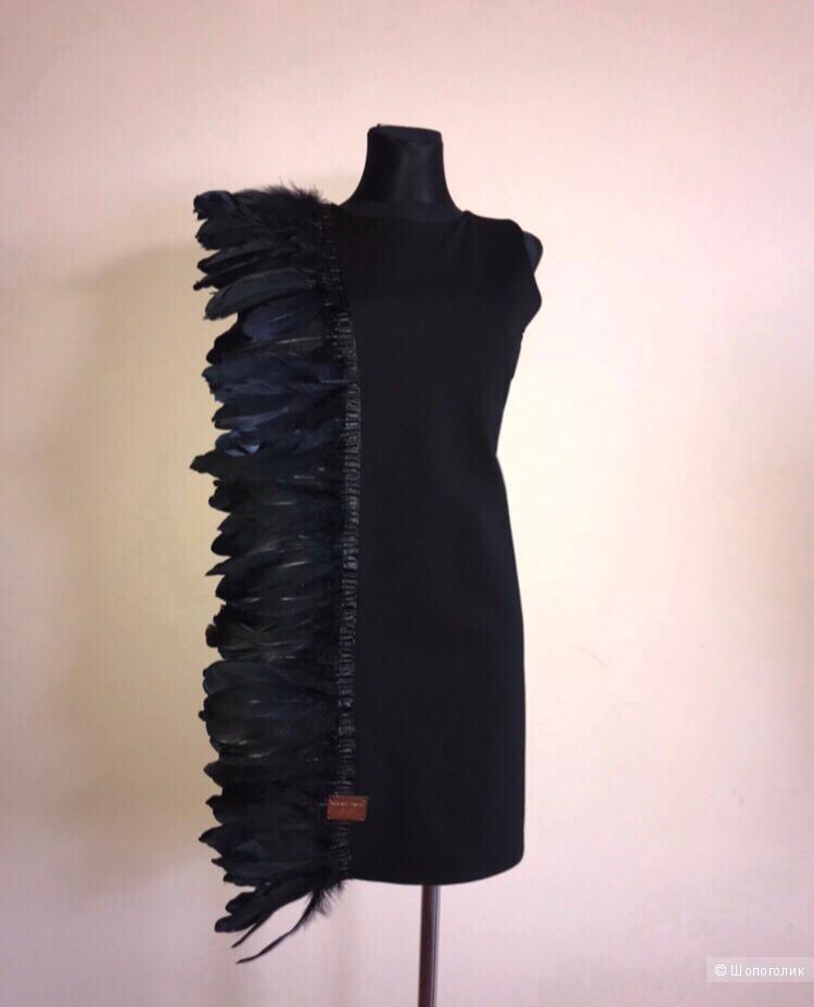 Платье с перьями PAPARAZZI, 42-46