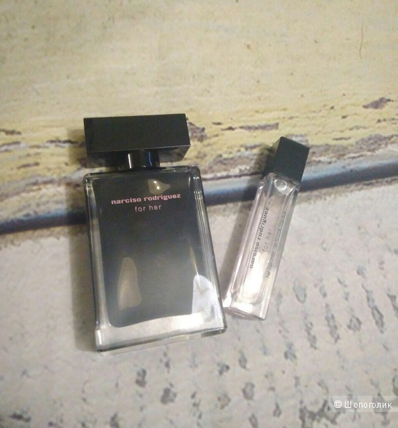 Набор Narciso Rodriguez For Her EDT 45 мл из 50мл, и Hair Mist Spray 8мл из 10 мл.