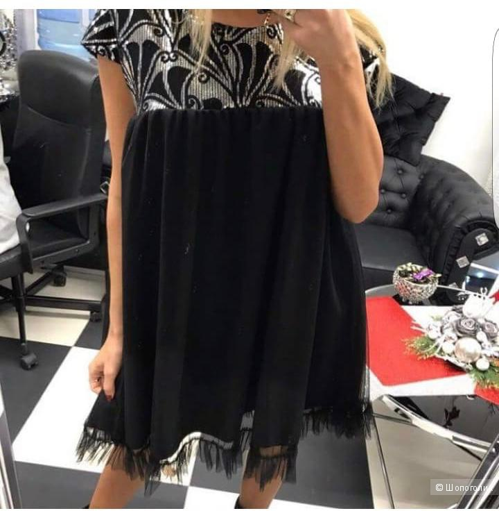 Платье с пайетками Polsbal, one size