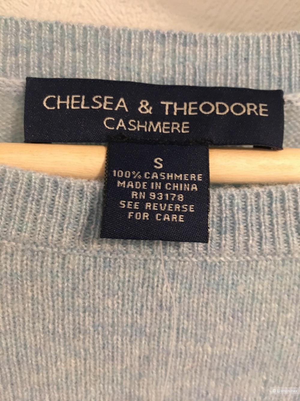 Кашемировый свитер Chelsea and Theodore размер S