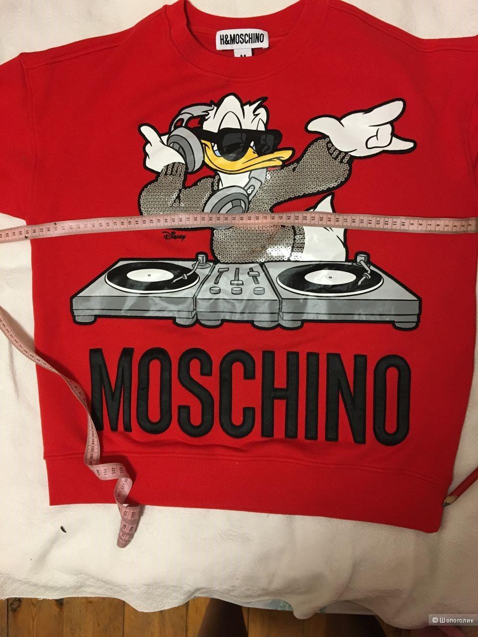 Свитшот Moschino х H&M,раз.М