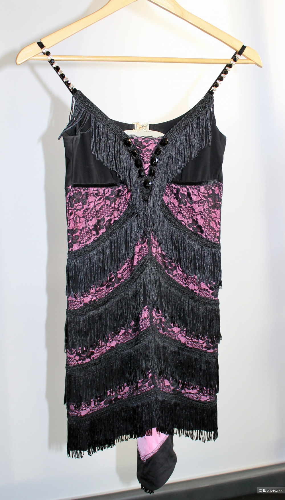 Платье Seam c бахромой, размер S